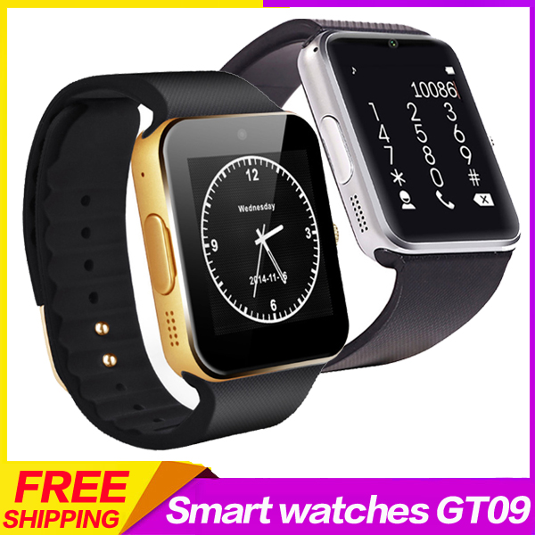 2015 New Bluetooth Smart Watch GT08 For Android IOS Iphone WristWear Support