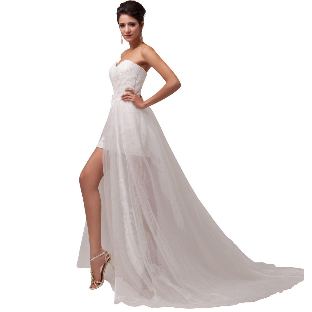 Low Waist Wedding Gowns: Aliexpress.com : Buy Beach Style Stock Strapless Empire
