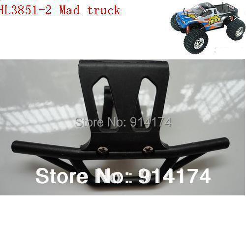 HengLong HL3851-2 1:10 RC Mad Truck  parts No 71 Front Bumper  free
