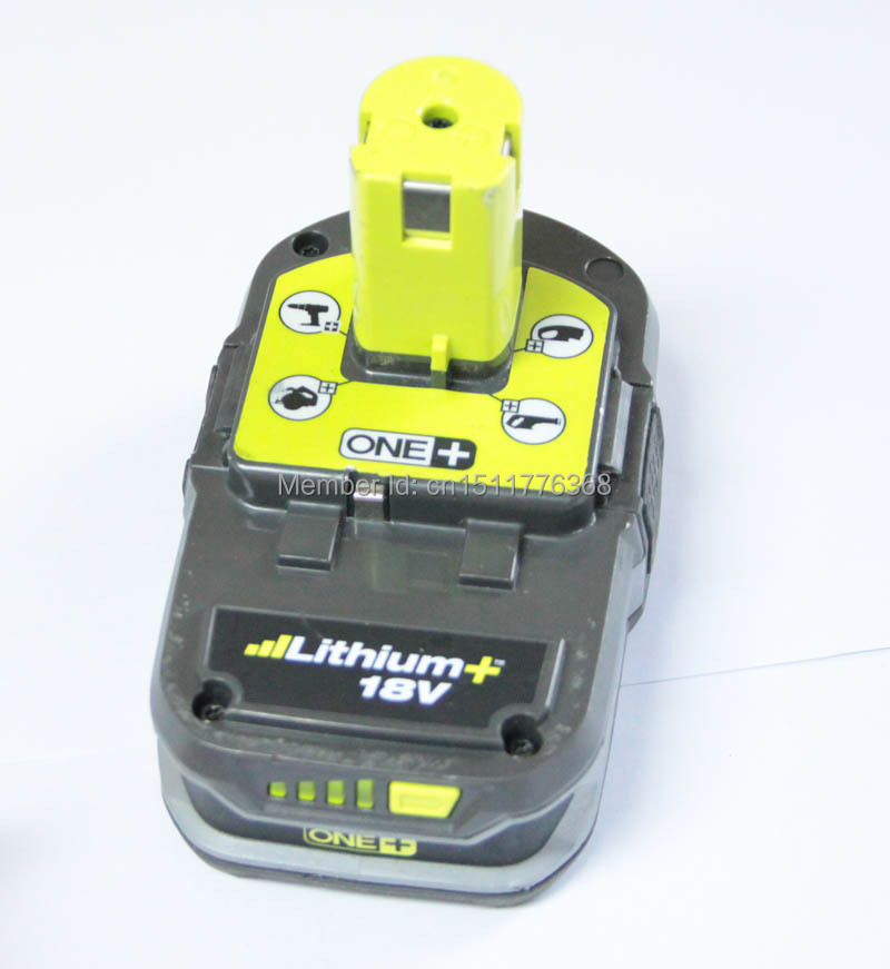 tools battery ryobi p107 18v compact li ion rechargeable battery akku for cordless tools used in. Black Bedroom Furniture Sets. Home Design Ideas