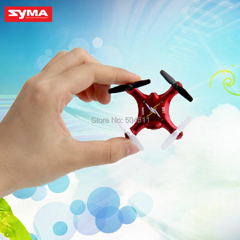 Free Shipping New 2014 SYMA X12 Nano Explorers 2.4G 4CH 6 Axis RC Quadcopter