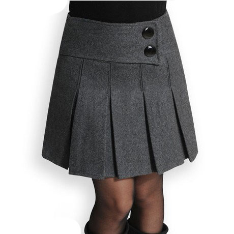 Wool Short Skirt 121