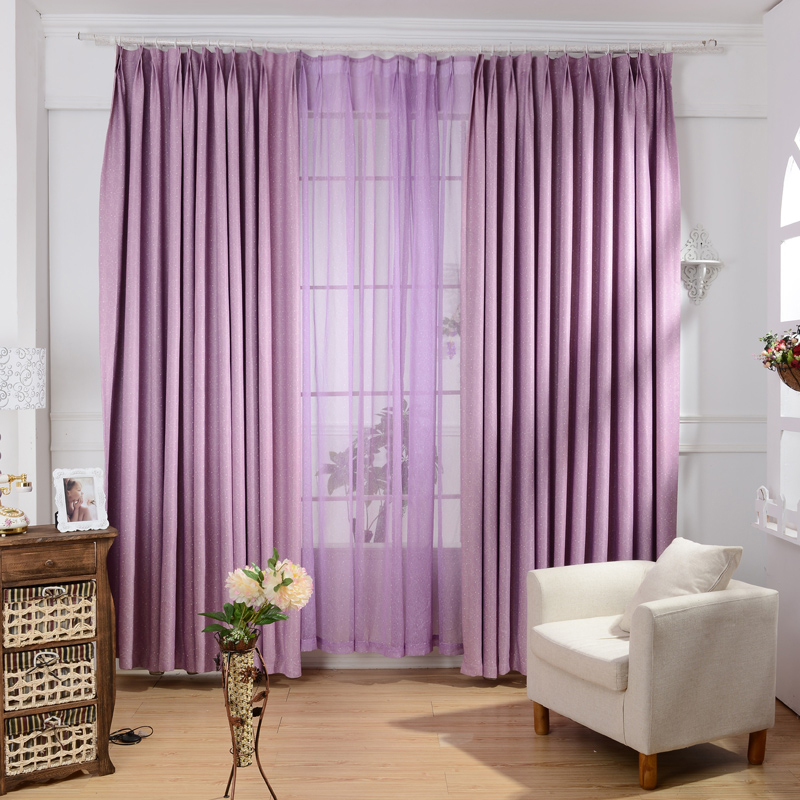 online kaufen gro handel lila vorhangstoff aus china lila vorhangstoff gro h ndler. Black Bedroom Furniture Sets. Home Design Ideas