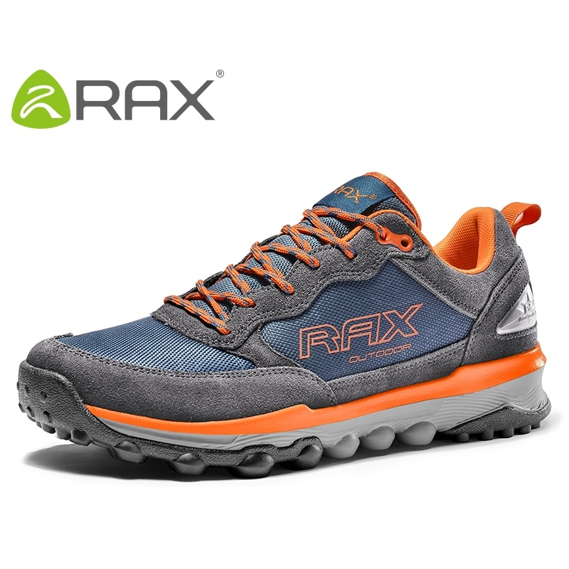 Rax Men Hiking Shoes Genuine Leather Hiking Shoes For Men Autumn And