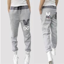 Free Shipping  2013 New  Sports Pants Loose Casual Pants Cotton Women's Pants Harem Pants W146