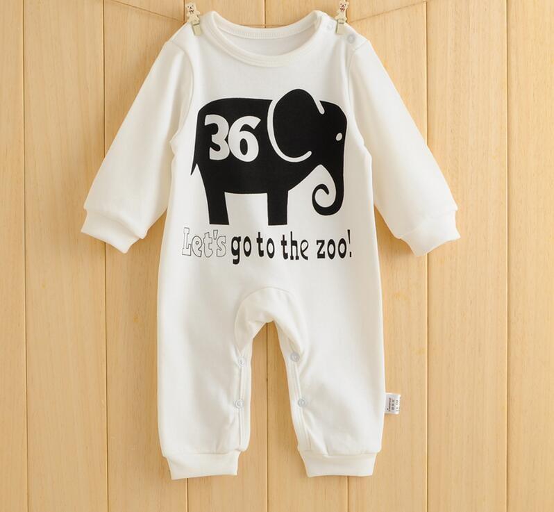 2016 primavera roupas de bebê verão macacão de bebê dos desenhos animados menina 100% algodão bebê menino roupas macacão, desgaste bebes recém-nascidos 0-2 anos