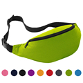 Premium 9 Colors Sports Waist Bag Unisex Travel Running Waist Bag Handy Hiking Sport Fanny Pack