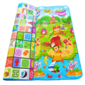 0 5cm Double sided Baby Crawling Play Mat Children Puzzle Pad Kids Rug Gym Soft Floor