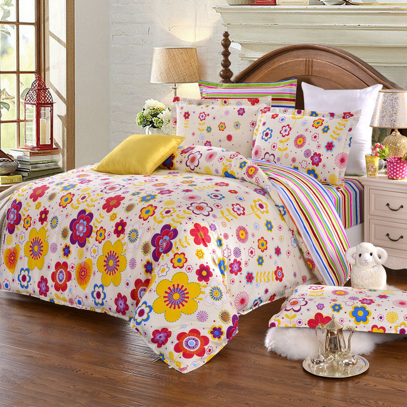 sunflowers bedding cheap comforter sets full size. Black Bedroom Furniture Sets. Home Design Ideas