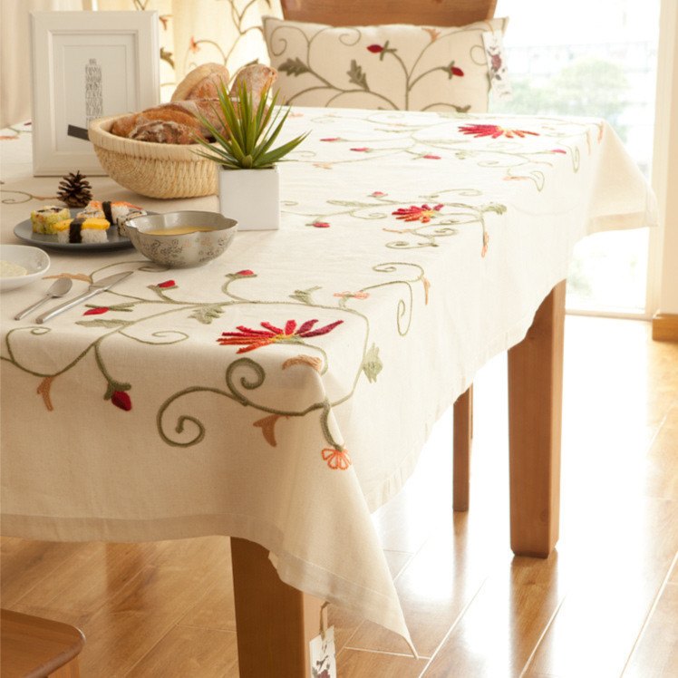 Popular Chinese Embroidered Tablecloths Buy Cheap Chinese