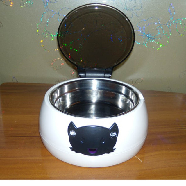 Battery Operated Cat Food Bowl