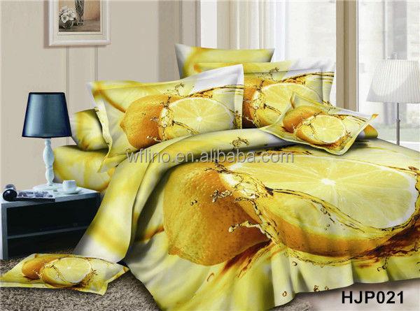housse de couette fruits 3d housses de couette cor e linge de lit fabricant literie id de. Black Bedroom Furniture Sets. Home Design Ideas