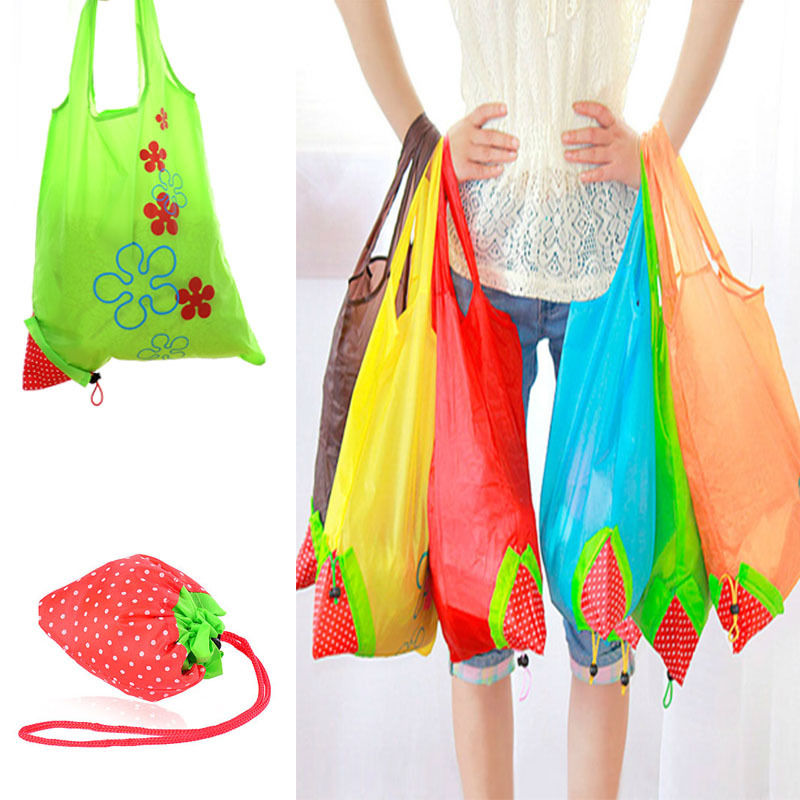 29dd5fa155c Detail Feedback Questions about New Nylon Foldable Reusable Shopping Bags  Strawberry Tote Eco Storage Handbag CN on Aliexpress.com