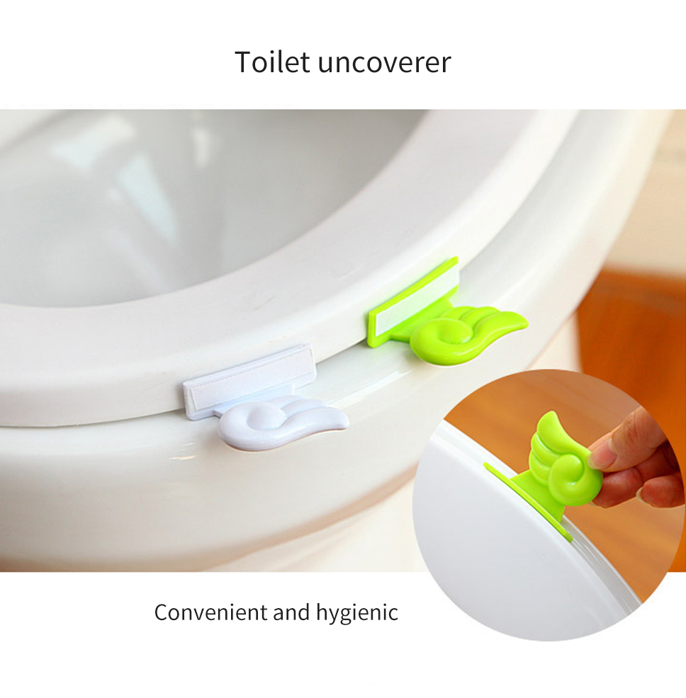 Superb Pop Angel Wing Sanitary Toilet Seat Cover Lifters Toilet Caraccident5 Cool Chair Designs And Ideas Caraccident5Info
