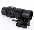 Tactical 3X Magnifier Scope Optics Scopes Riflescope Fits Aimpoint Sight with Flip To Side Picatinny Weaver