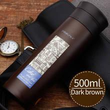 PINKAH 500 мл изолированный термос, чайная кружка, кофейная кружка, дорожный напиток Bott с фильтром, чашка для воды, Офисная кружка, изолированная ...(Китай)