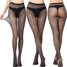 Luckymily/сексуальное женское нижнее белье, кружевные прозрачные черные ажурные чулки бедро, прозрачные колготки с вышивкой(Китай)