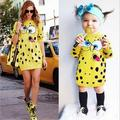 Cartoon Knitted Sweater Dresses Girls Family Clothing Dresses For Mother And Daughter Family Matching Outfits baby