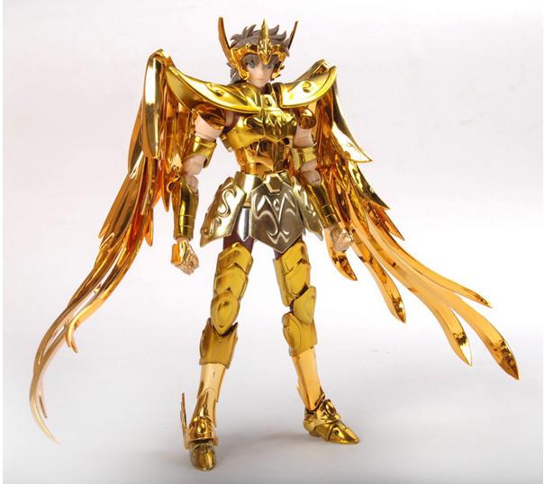 Saint Seiya Aldebaran Sagittarius Aioros 18cm PVC Action Figure Model Toys Gifts Collection