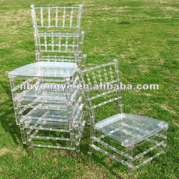Matrimonio chiaro resina sedia tiffany sedia pieghevole id for Mobilia wedding