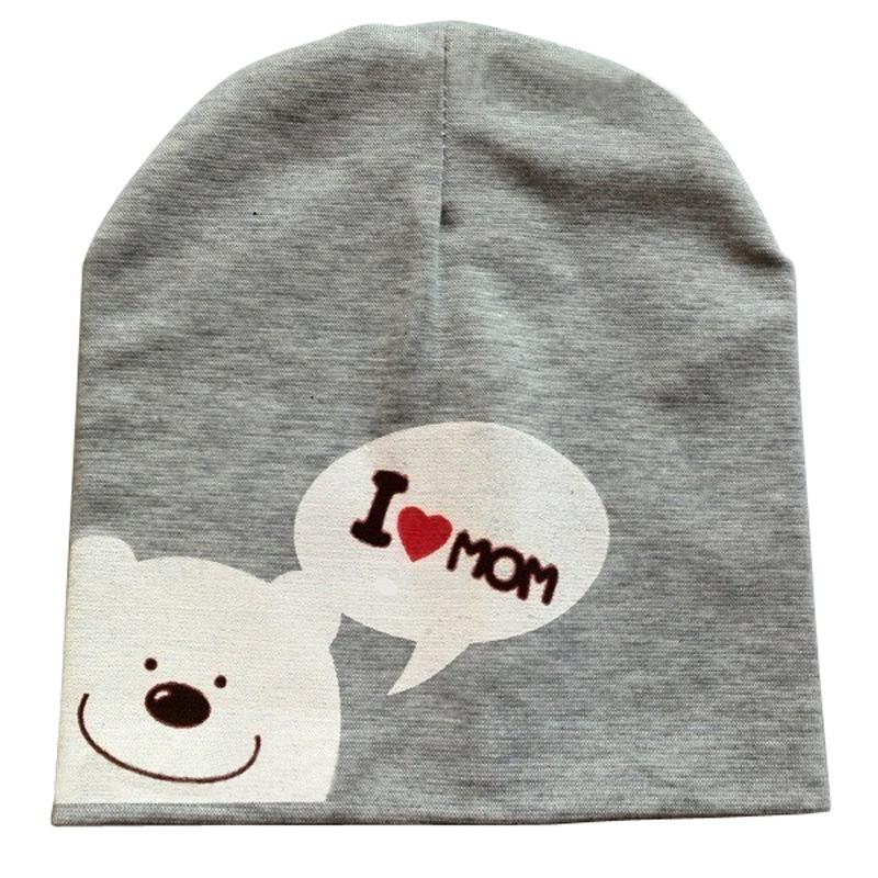 Cute Spring Winter Autumn Crochet Warm Unisex Bear Infant Baby Hat Cotton Girl Boy Cap Baby