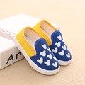 2016 Baby Boys Girls Canvas Walkers Shoes Toddlers Cartoon Breathable Fashion Casual Shoes Little Kids Comfortable
