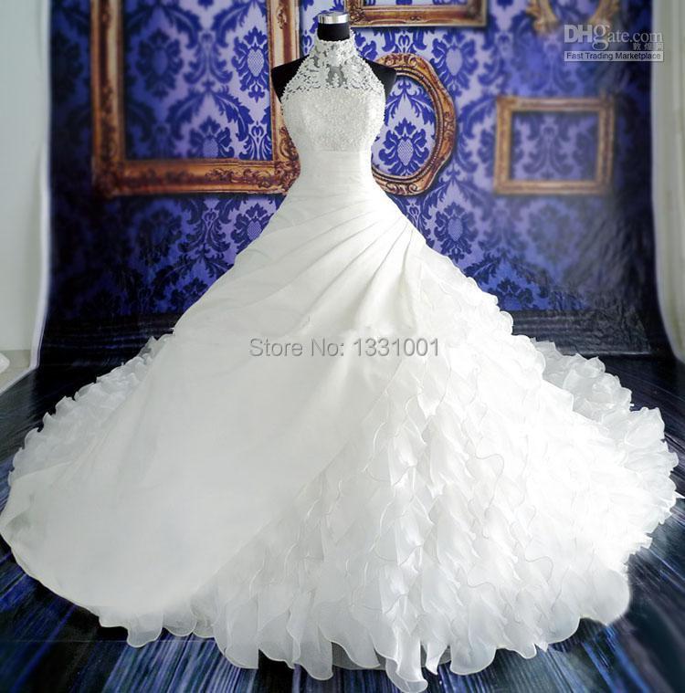 Turtleneck Wedding Gown: Popular Turtleneck Wedding Dresses-Buy Cheap Turtleneck