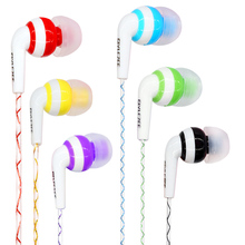 2016 Glylezee Luminous Stereo Cellphone MP3 Music Earphone Headset Glowing in the Dark for iPhone Samsung