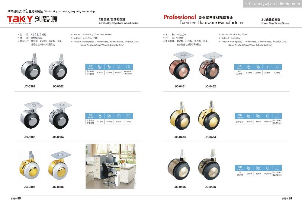 TK-J0406 8/10ネジキャスター車輪仕入れ・メーカー・工場
