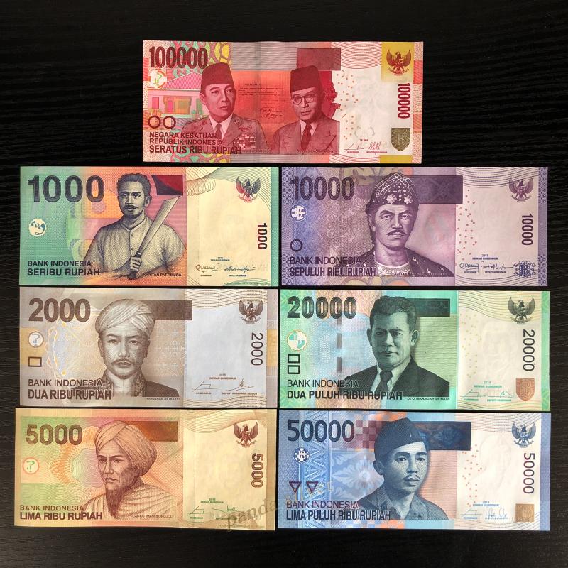 2019 P NEW SIGN UNC LOT 10 PCS INDONESIA 2,000 2000 RUPIAH 2016