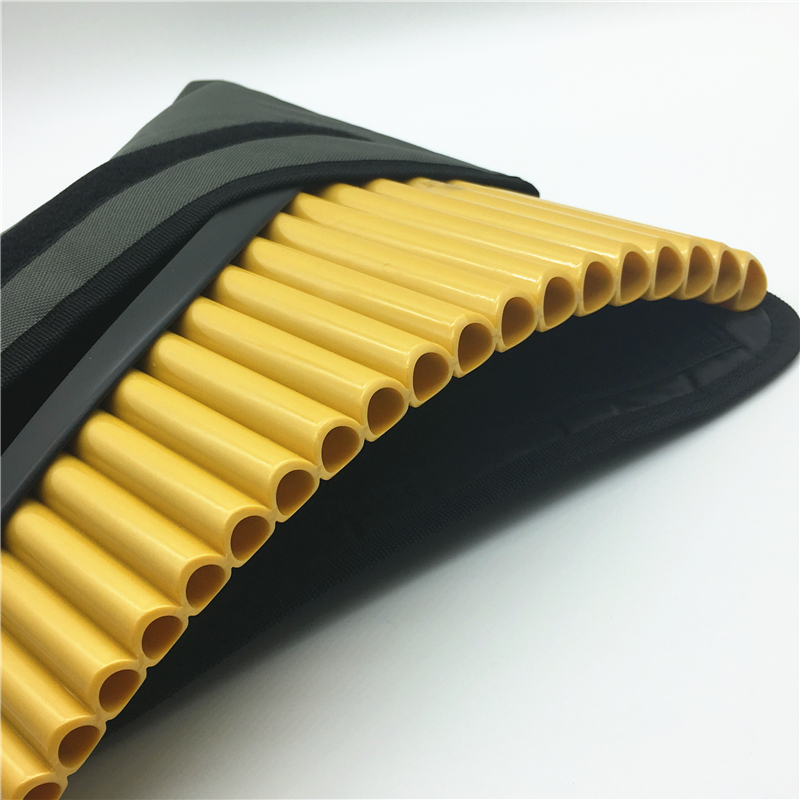 TUNED MI MINOR PAN FLUTE TUNED NATURAL BAMBOO ITEM IN USA 13 PIPES