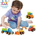 Free Shipping 4pcs lot High Quality Original Box Kids Beach Baby Toy Pull Back Cars Playing
