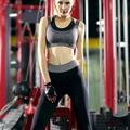Women Yoga Fitness Suit Sport Sets Female Summer Sportswear Gym Running Workout Clothes Girls Tops Bra