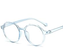 Женские очки оправы для оптики металлические круглые стекла es оправа с прозрачными линзами очки для глаз черный, серебристый, золотой глаз, ...(Китай)