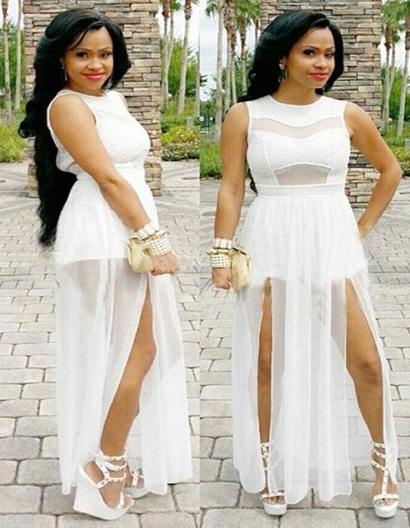 78bb4b088677f White Maxi Dress Beach Party