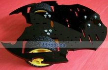 Wholesale High quality Batman chassis 2WD robot chassis mobile platform