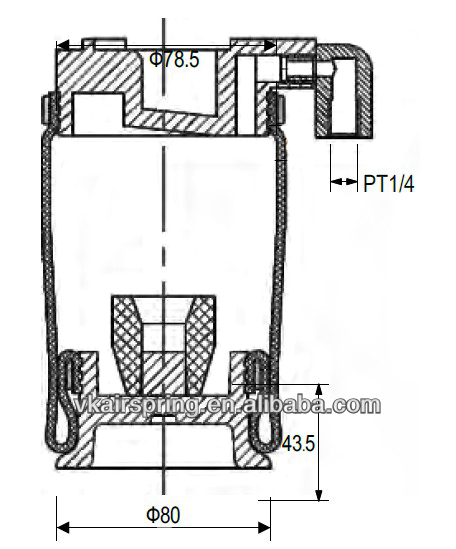 hino truck 52270-2253 air bag for cabin air suspension ... pierce bucket truck wiring diagram correll