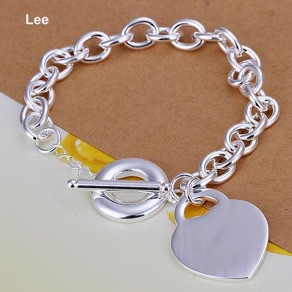 Italian Link Charm Bracelet: H274 925 Italian Bracelet Women Classy Design 925 Silver