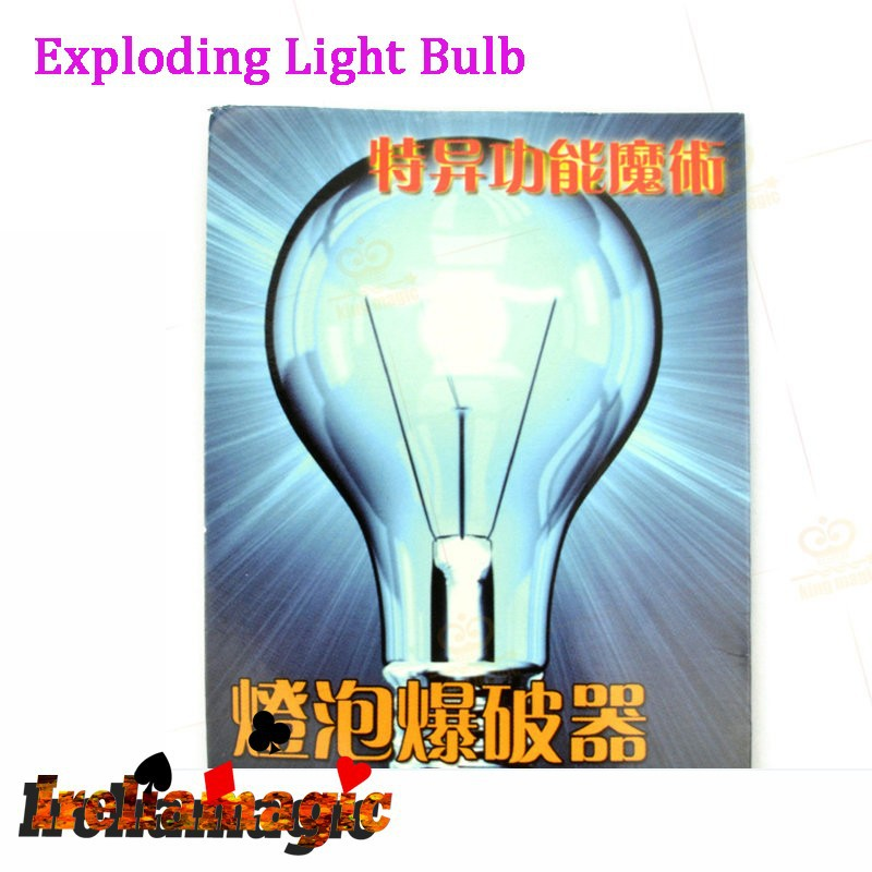 Exploding Light Bulb created by Yigal Mesika as seen on Criss Angel s TV show Mentalism
