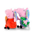 Original Pink Peppa George Mummy Daddy Pig Family Plush Toys Doll 19cm 7 5 Best Gifts