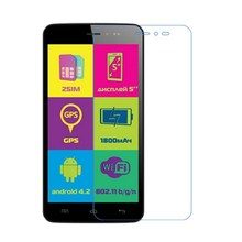 Ultra Clear HD front LCD glossy Screen Protector Screen protective Film For Explay Rio