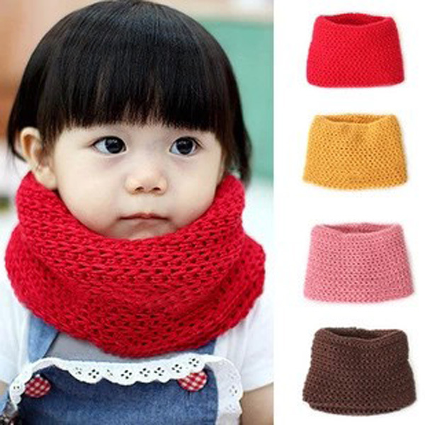 2016 Hot Selling Winter Neckerchief Women Children s Cotton Muffler Baby bib Warm Soft Boys Scarves