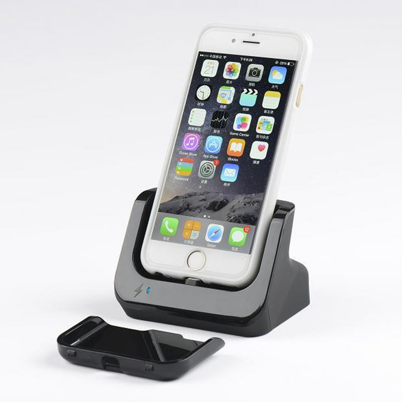 hot sell dock charger for apple iphone 6s 6 4 7 cradle. Black Bedroom Furniture Sets. Home Design Ideas
