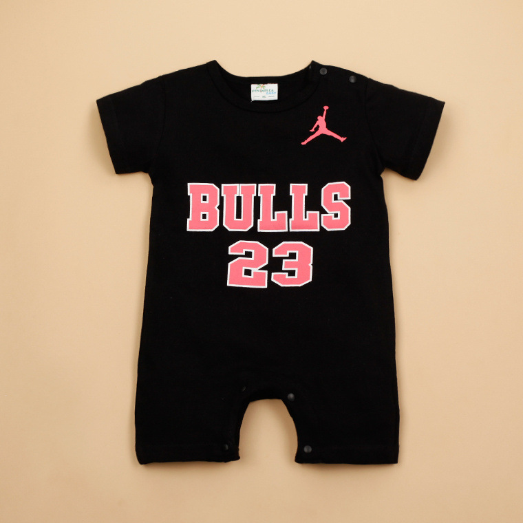578e8342c81fa ... Sudadera Jordan Baby Clothes Boy Girls Romper Summer Ensemble Vetement Jordan  Bebe Garcon Fille Bulls