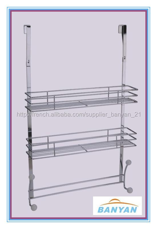 etag re de douche en acier inoxydable etag re salle de bain suspendre 3 tages etag re de. Black Bedroom Furniture Sets. Home Design Ideas