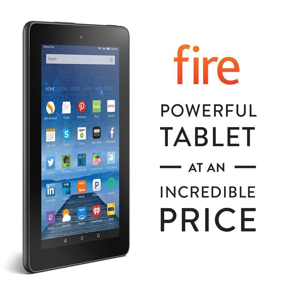 "2015 All New Kindle Fire Ebook Reader 7"" Display, Wi-Fi, 8 GB"