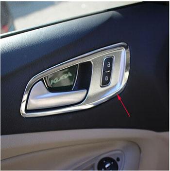Car styling for ford escape kuga 2013 2014 chrome interior - Ford escape interior accessories ...