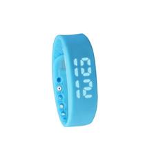 2016 W2 LED Digital Sports USB WristWatch Silicone Band  For Kids Women Men 3D Pedometer Smart Watch