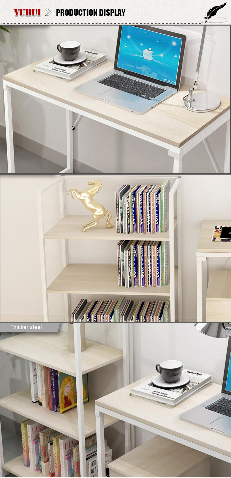 pliable biblioth que avec rabattre bureau petite blanc. Black Bedroom Furniture Sets. Home Design Ideas