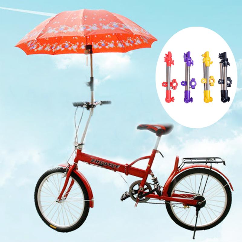 Новый Зонтик Стоит Коляски Поворотный Кресло Велосипедов Зонтик Разъем Коляска Держатель Под Любым Углом
